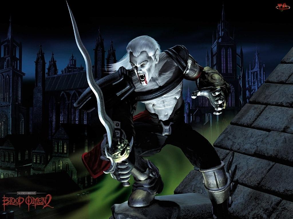 Legacy Of Kain Bo 2, miecz, postać, wampir