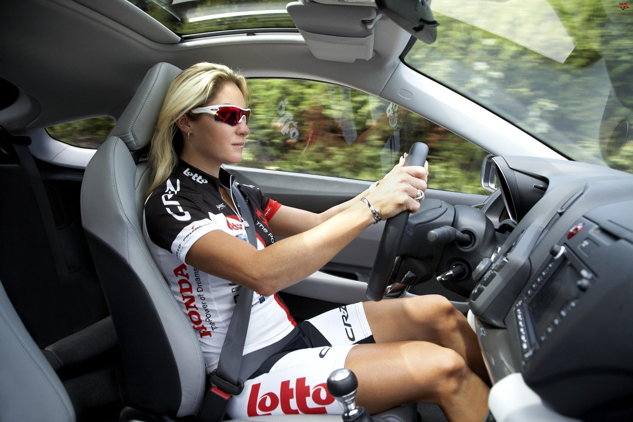 Honda CR-Z, Testowa, Kobieta, Jazda