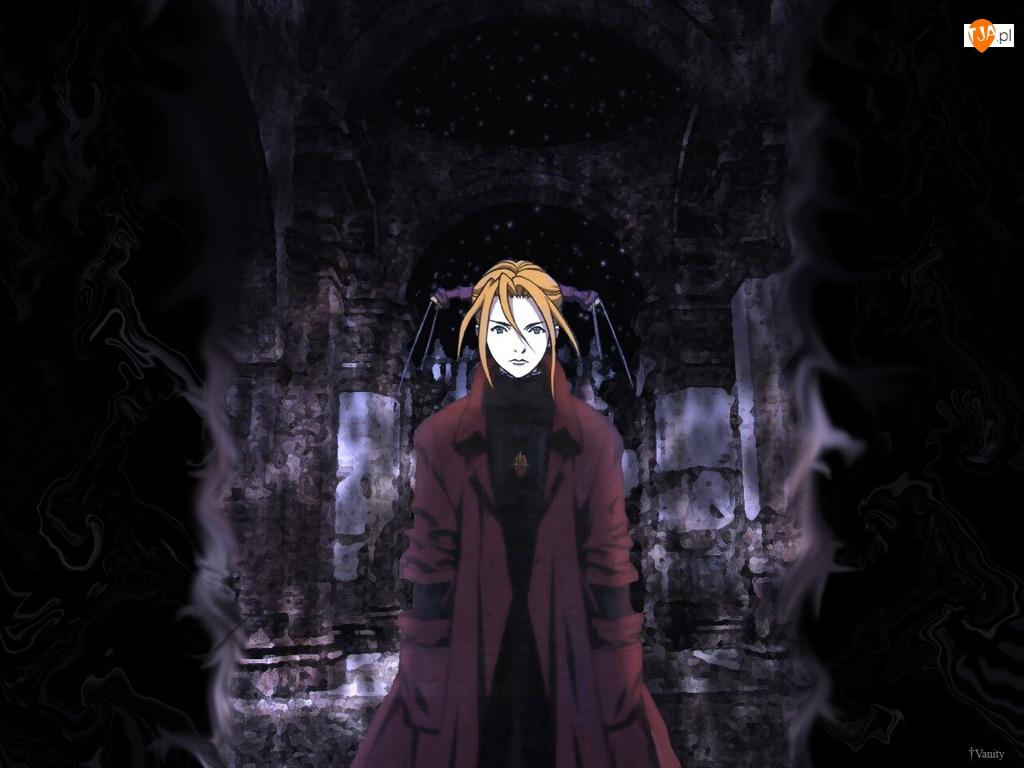 płaszcz, Witch Hunter Robin, dziewczyna