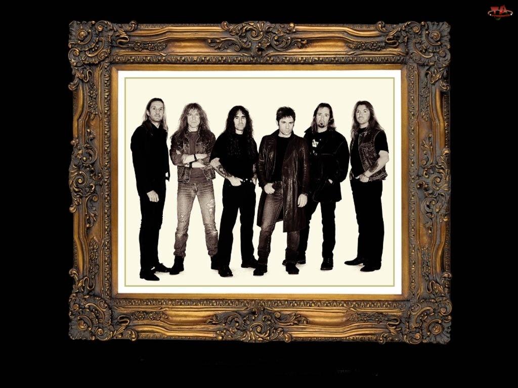 Iron Maiden, obraz, ramka, zespól
