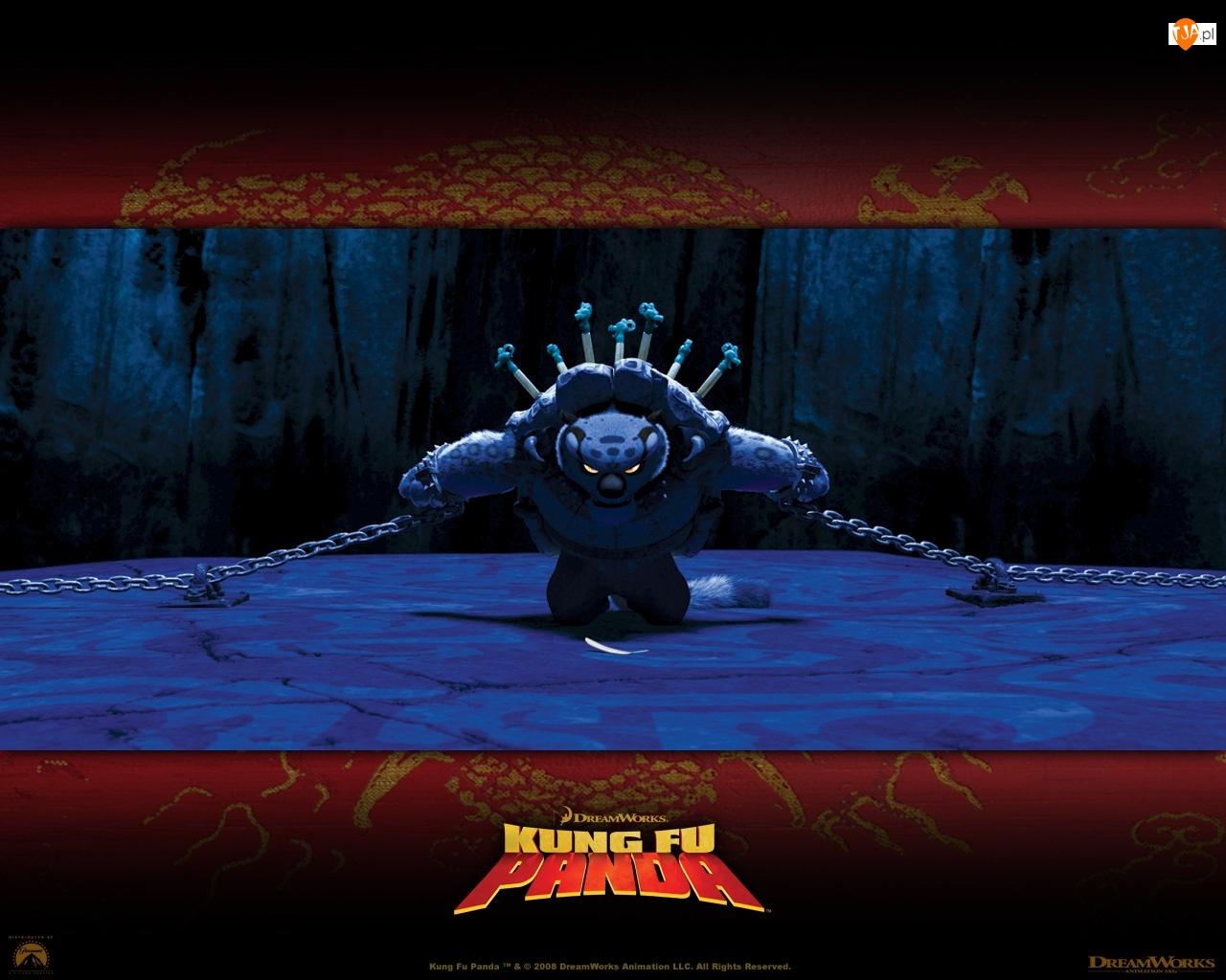 przywiązany, Kung Fu Panda, Tai Lung