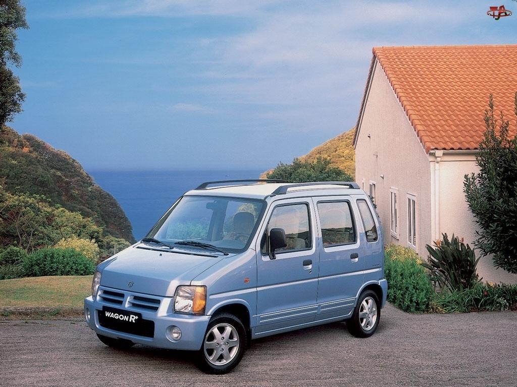 Suzuki Wagon R+, Jasny niebieski