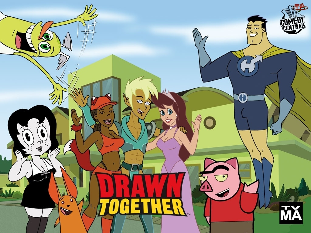 Serial animowany, Drawn Together, Comedy Central
