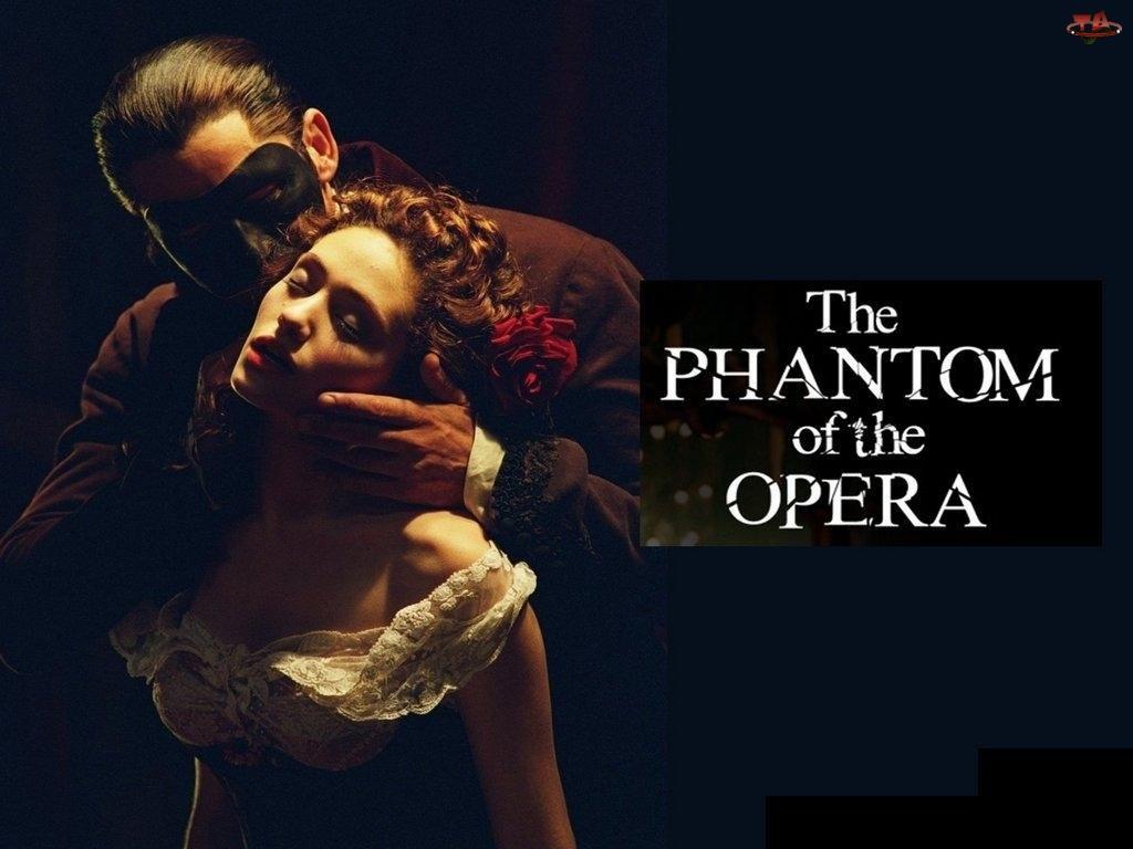 Gerard Butler, Phantom Of The Opera, Emmy Rossum, pocałunek