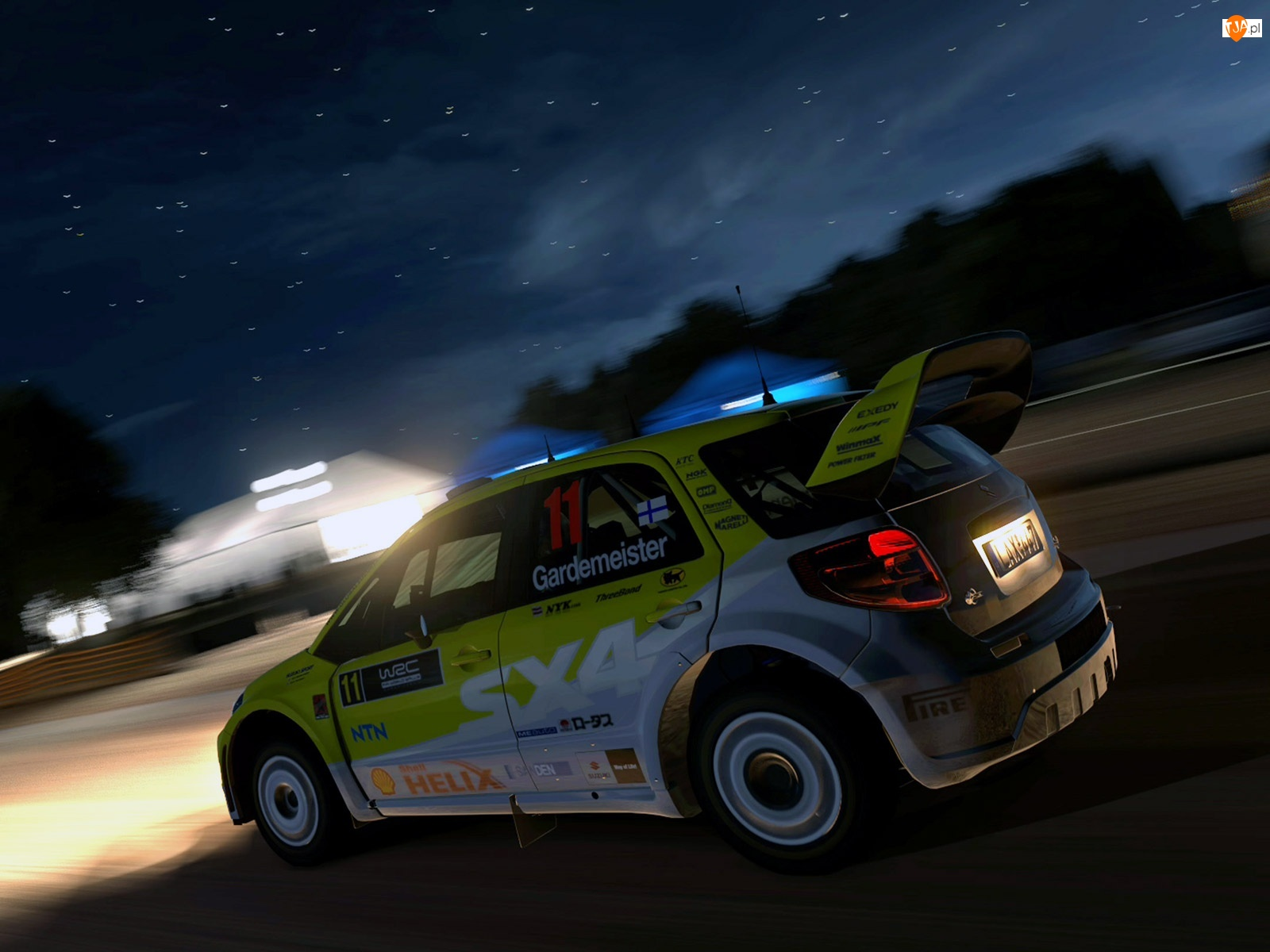 Rajd, Suzuki SX4, Nocny