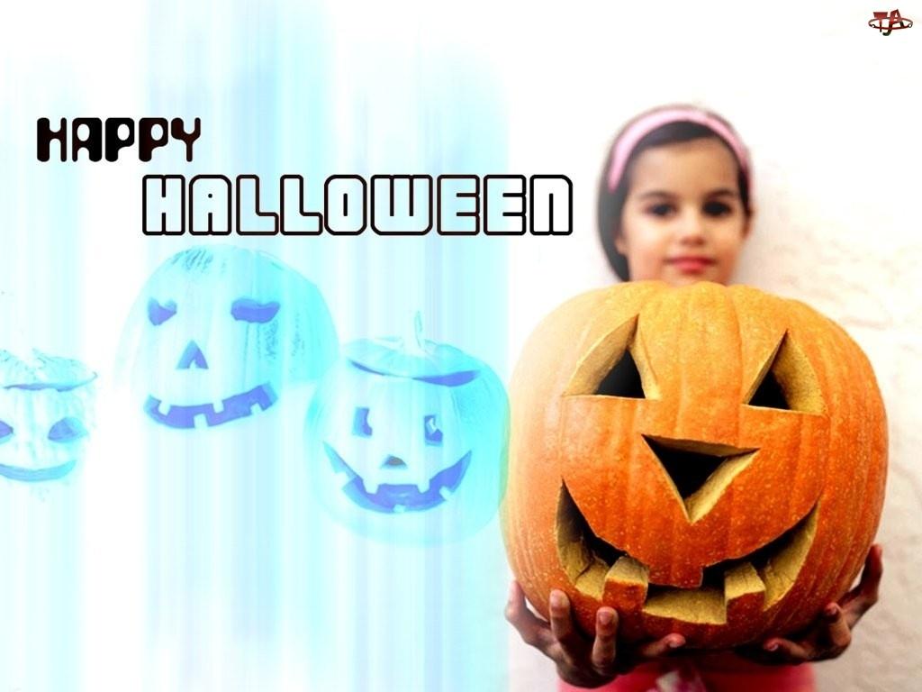Halloween, Dziecko z dynią