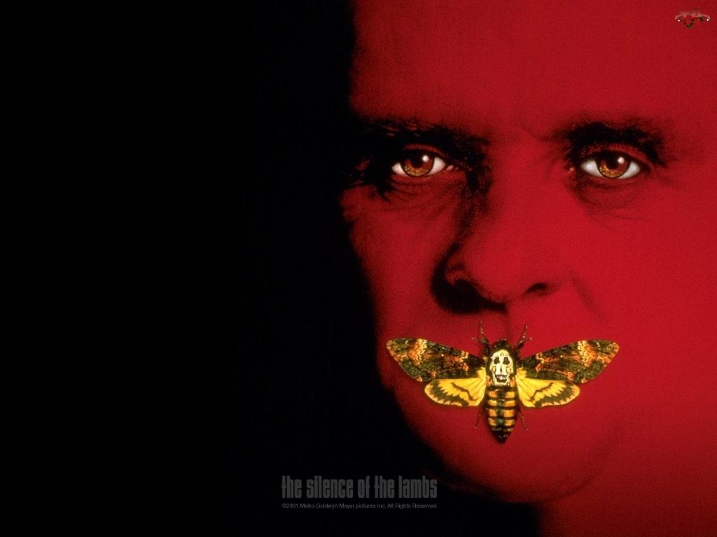 owad, The Silence Of The Lumbs, zmarszczki, twarz, motyl