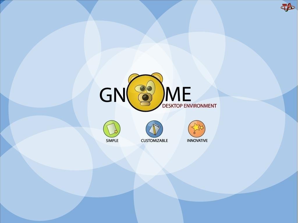 miś, Gnome, grafika