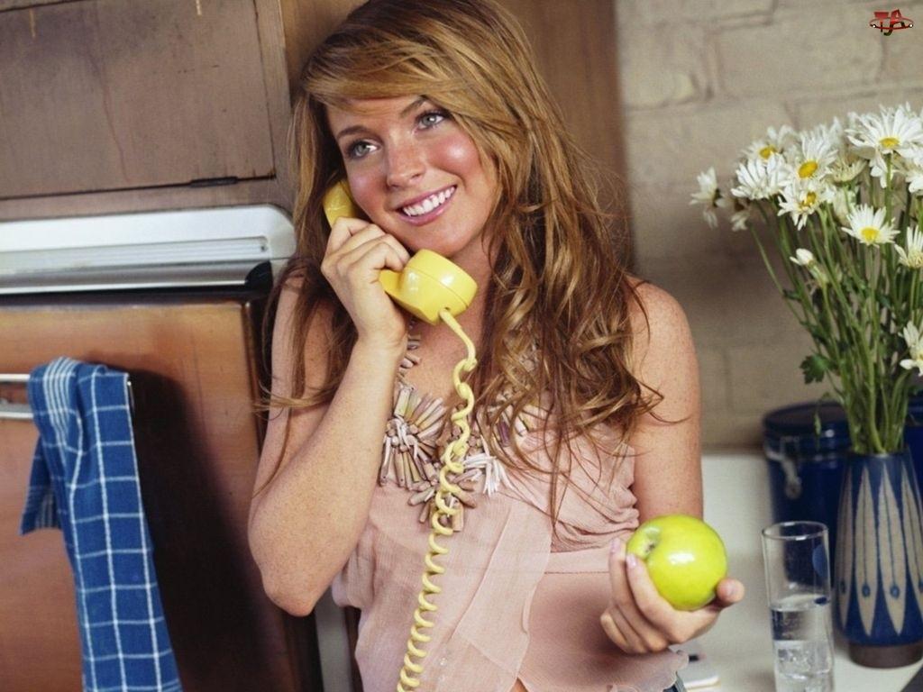 Jabłko, Lindsay Lohan, Telefon