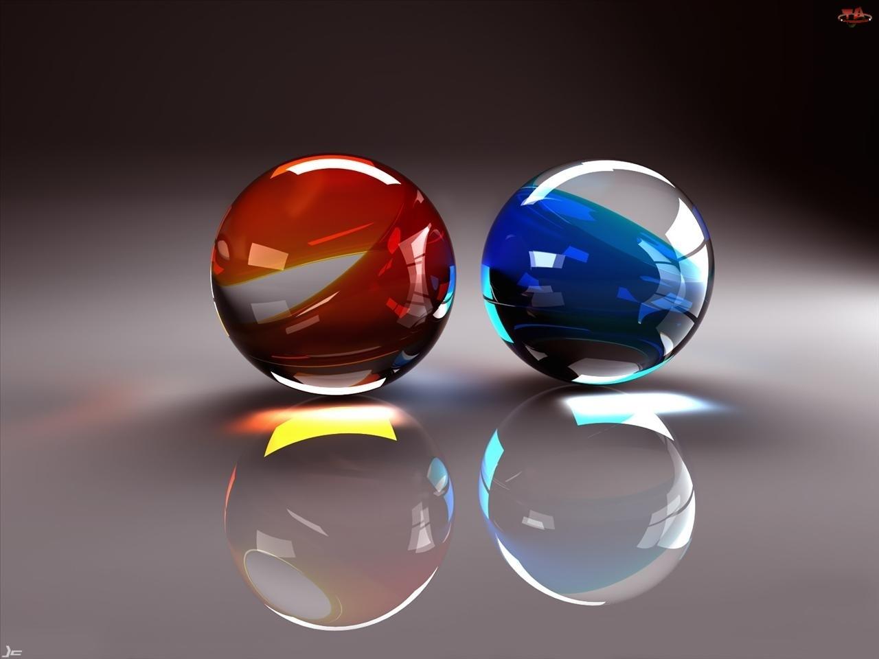 Kula, Niebieska, Czerwona