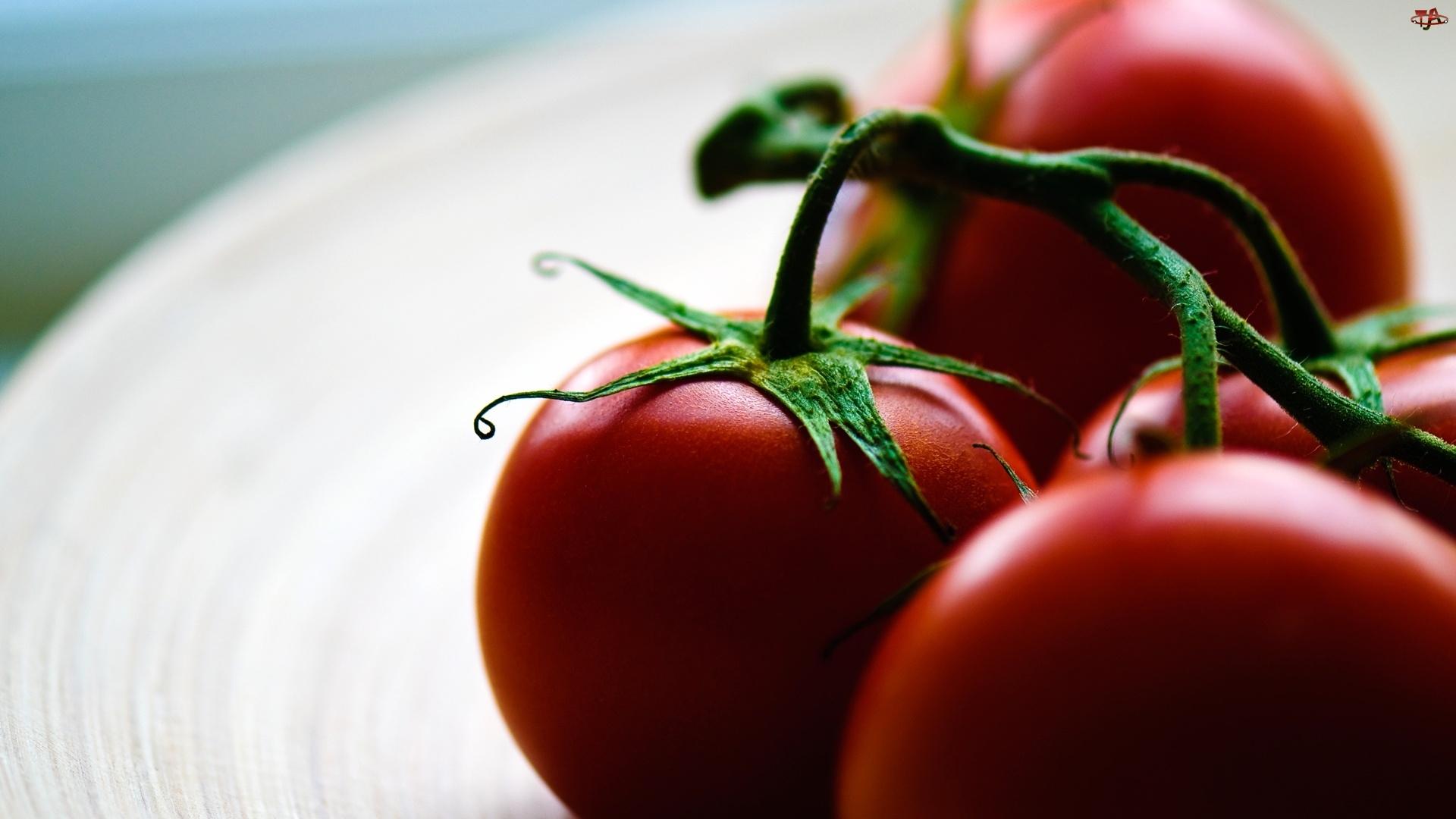Pomidory, Talerz