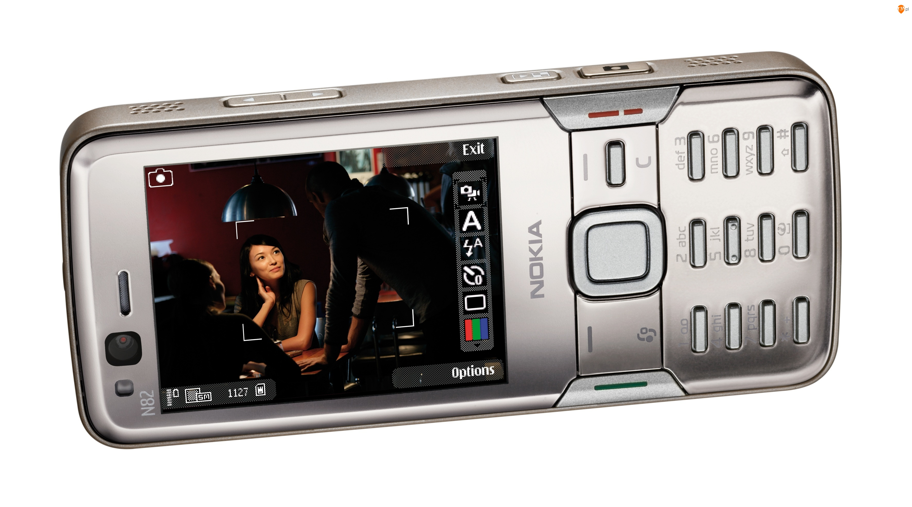 Nokia N82, Aparat