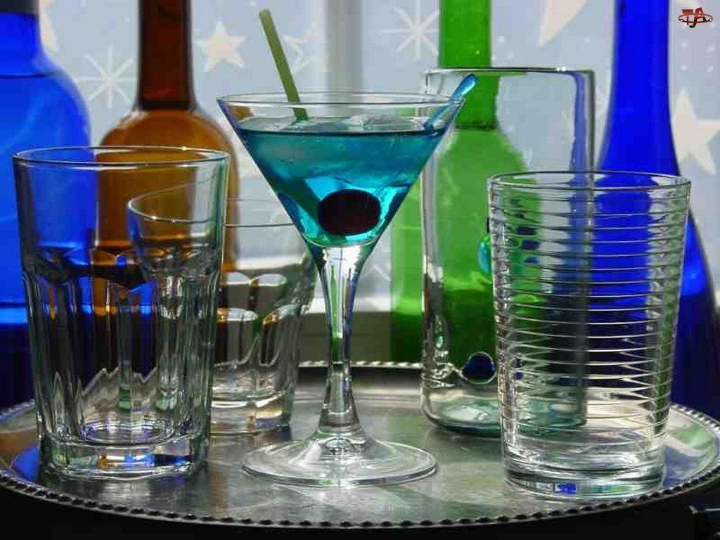 Drinki, szklanki