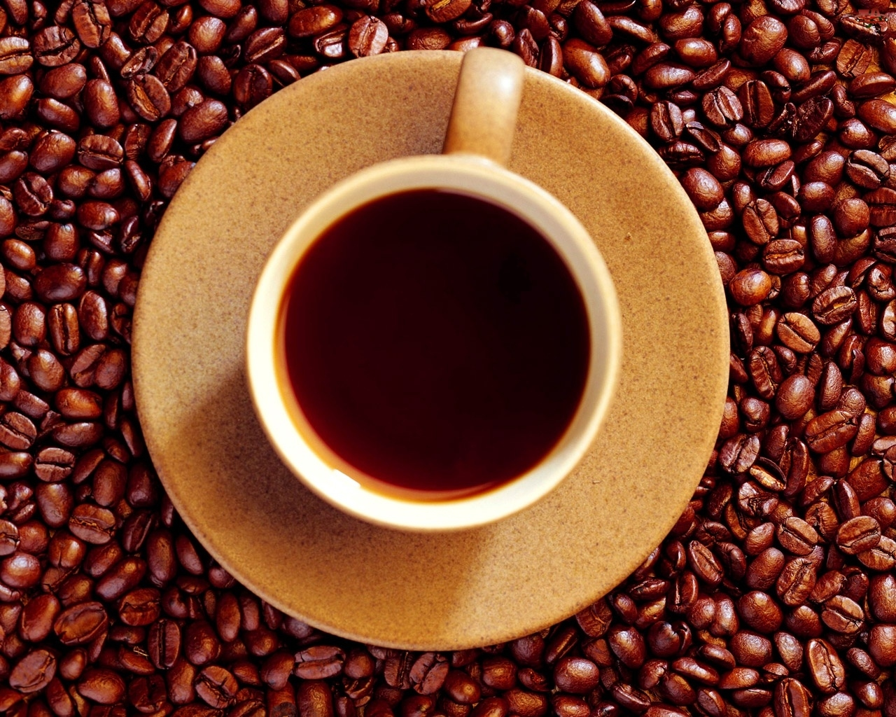 Filiżanka, Kawy