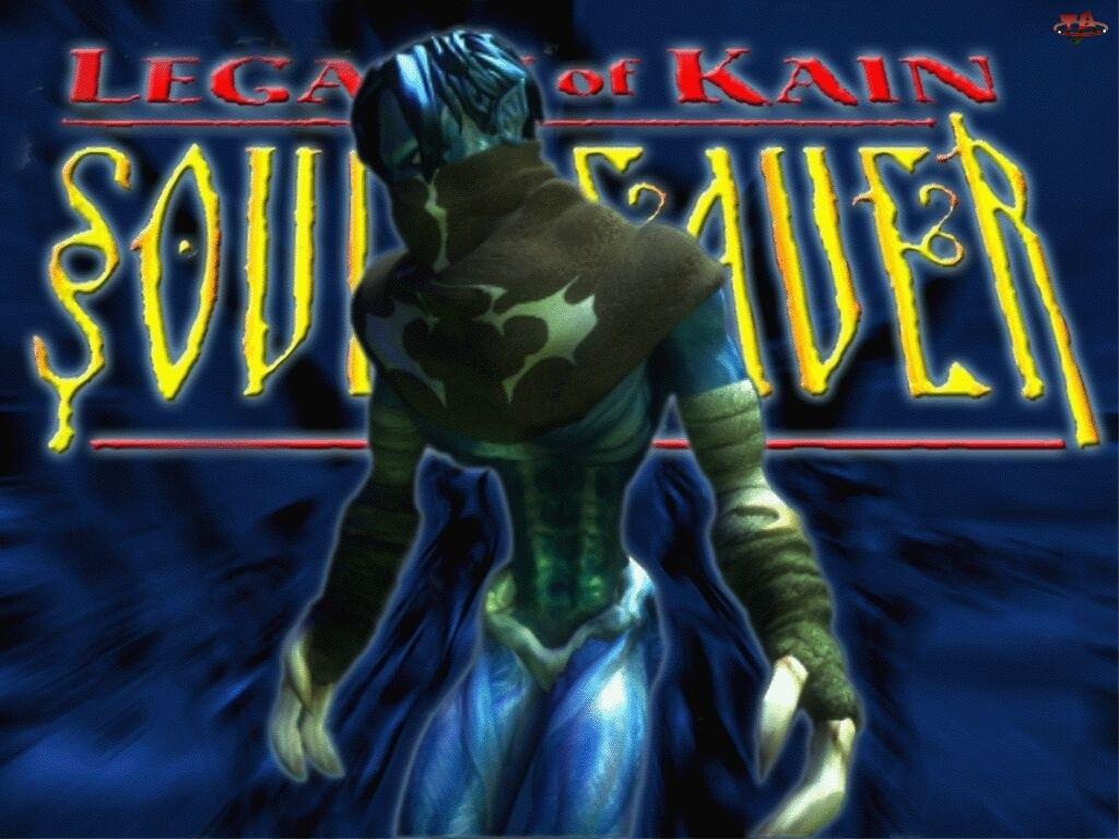 Legacy Of Kain Soul Reaver, logo, postać, potwór