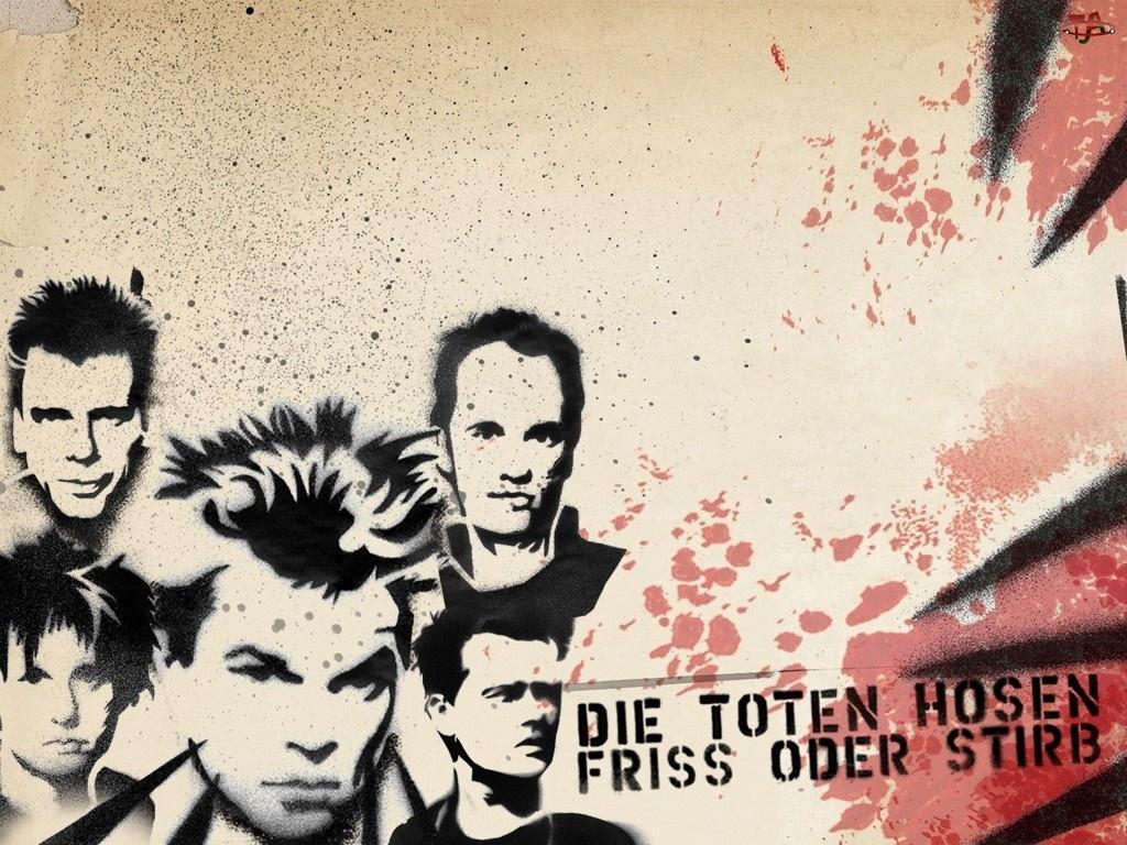 Die Toten Hosen, twarze