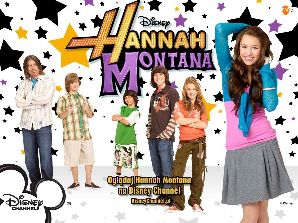 Channel, gwiazdki, Disney, Hannah Montana, postacie