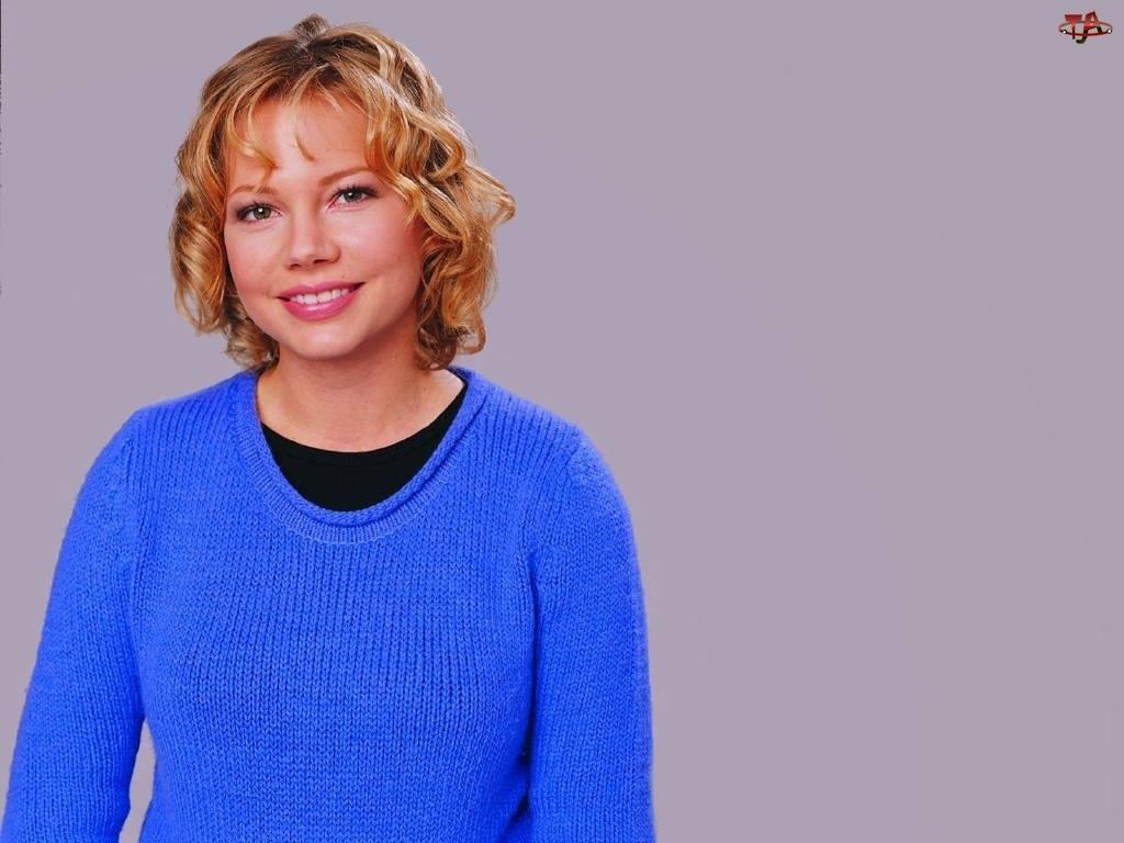 Sweterek, Michelle Williams, Niebieski