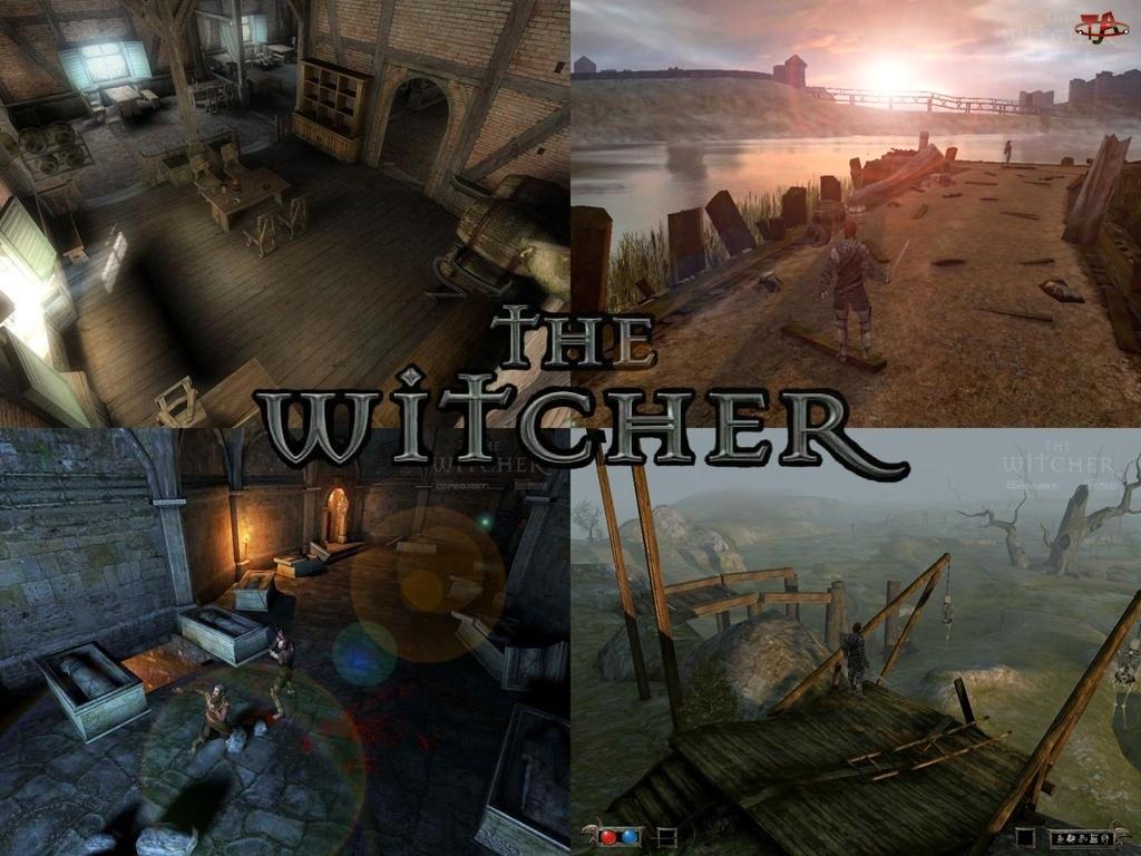 The Witcher, katakumby, komnata, droga