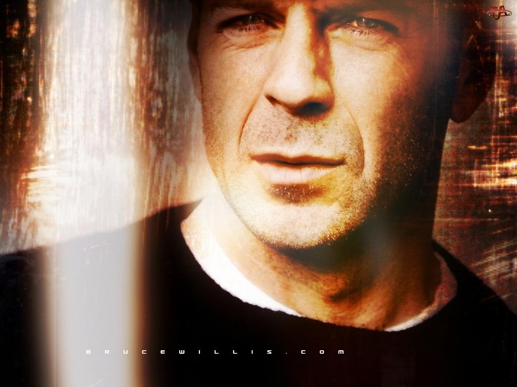 oczy, Bruce Willis, twarz