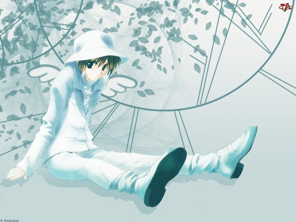 kapelusz, Weiss Kreuz, białe, dziecko, ubranie