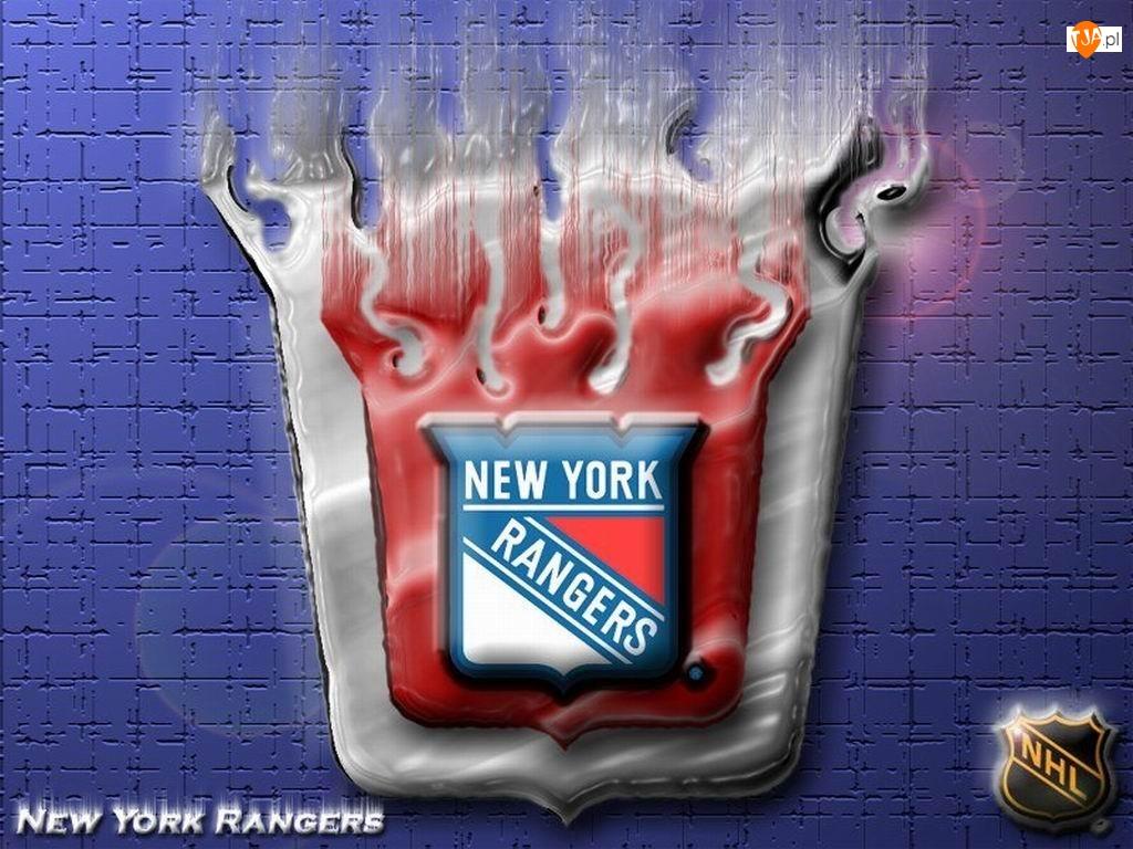 Logo, New York Rangers, Drużyny, NHL