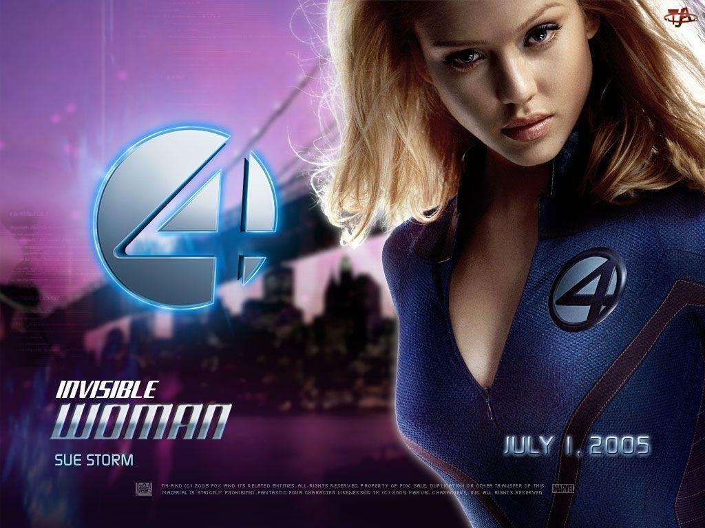 Fantastic Four 1, Jessica Alba