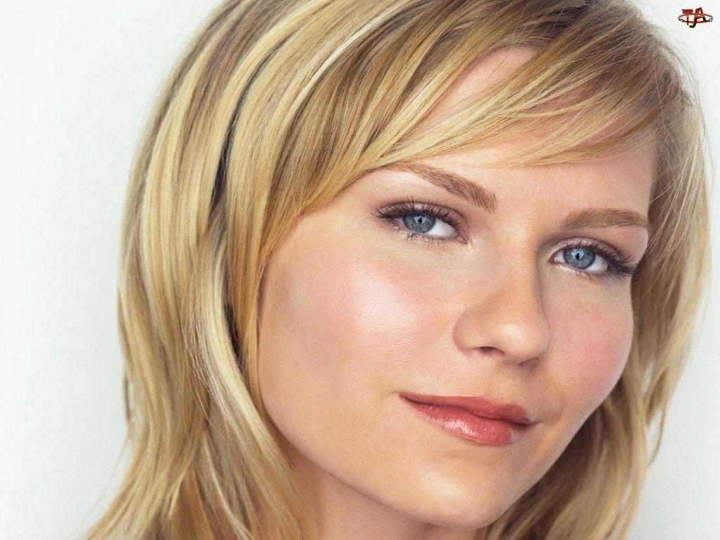 Oczy, Kirsten Dunst, Niebieskie