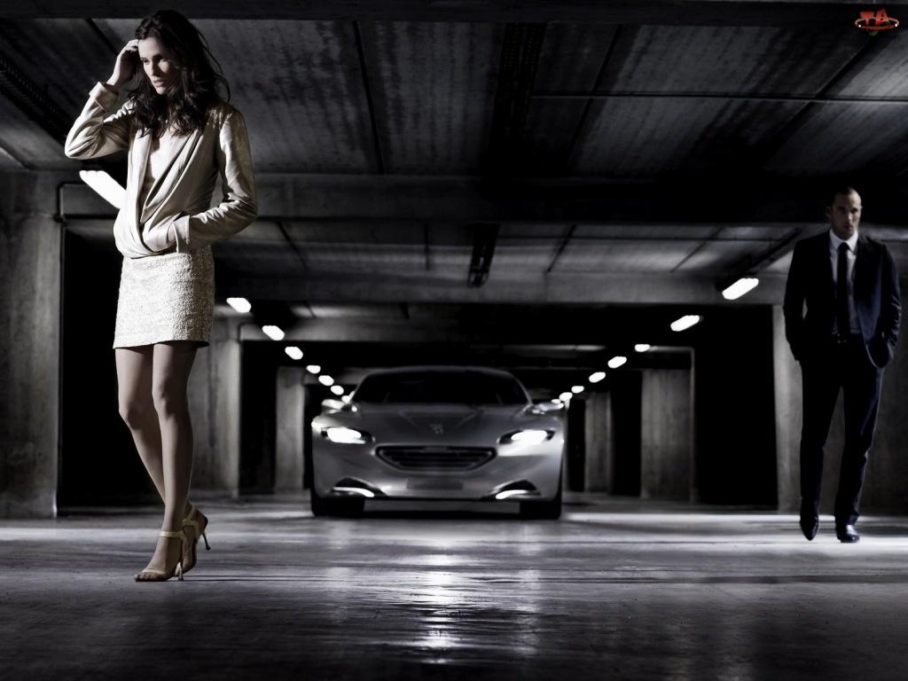 Peugeot SR1, Kobieta, Garaż, Podziemny
