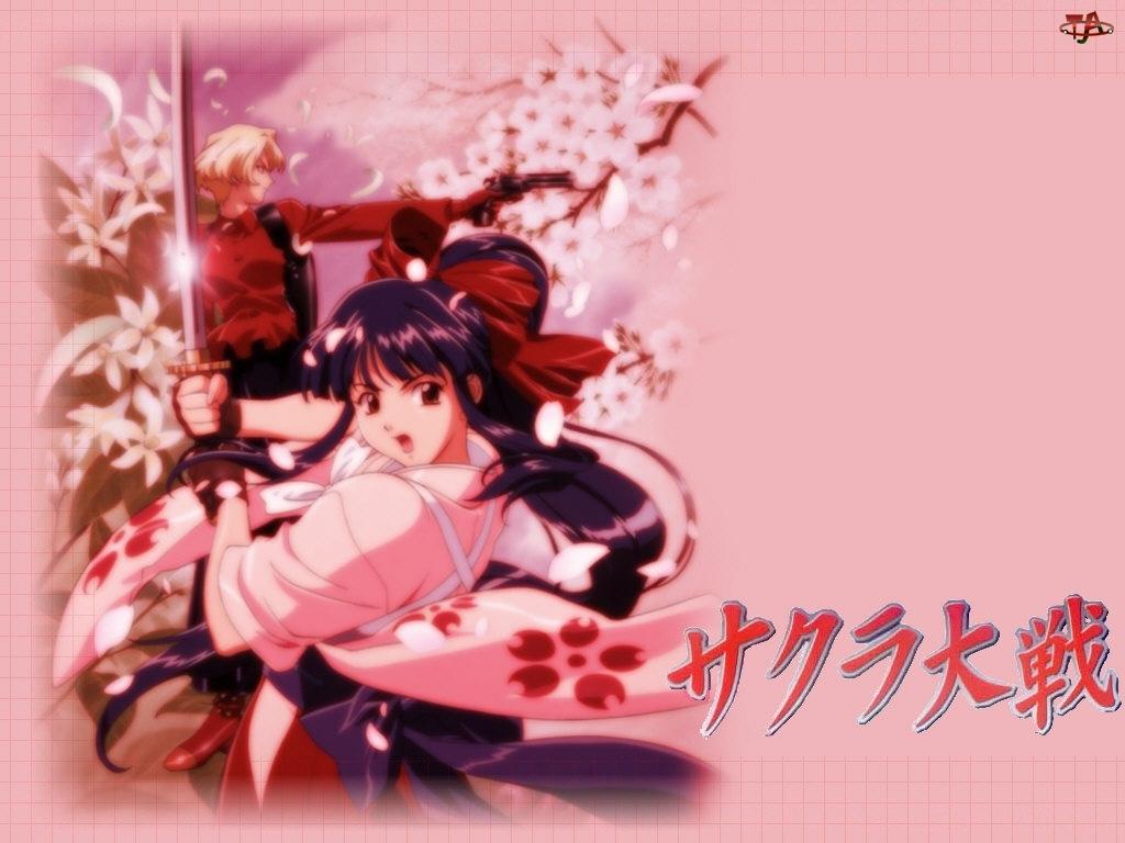 miecz, Sakura Wars, dziewczyna