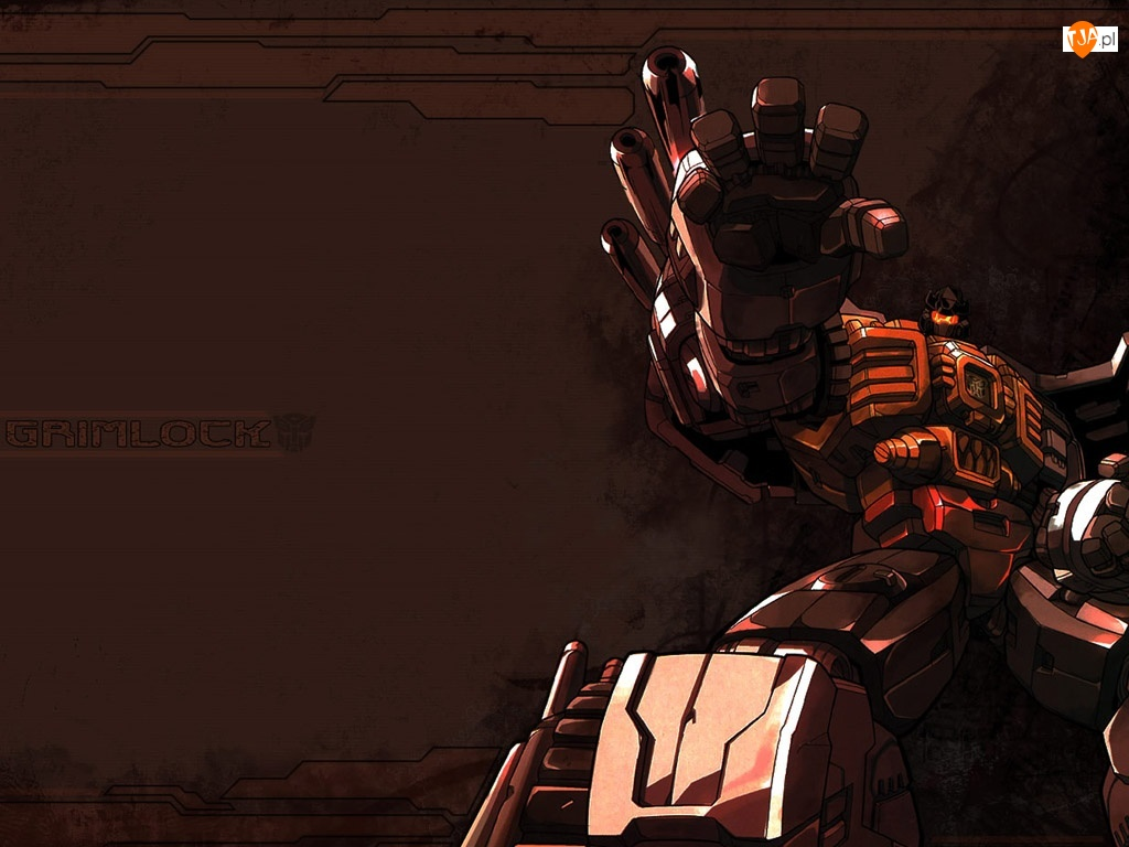 ręka, Transformers, robot