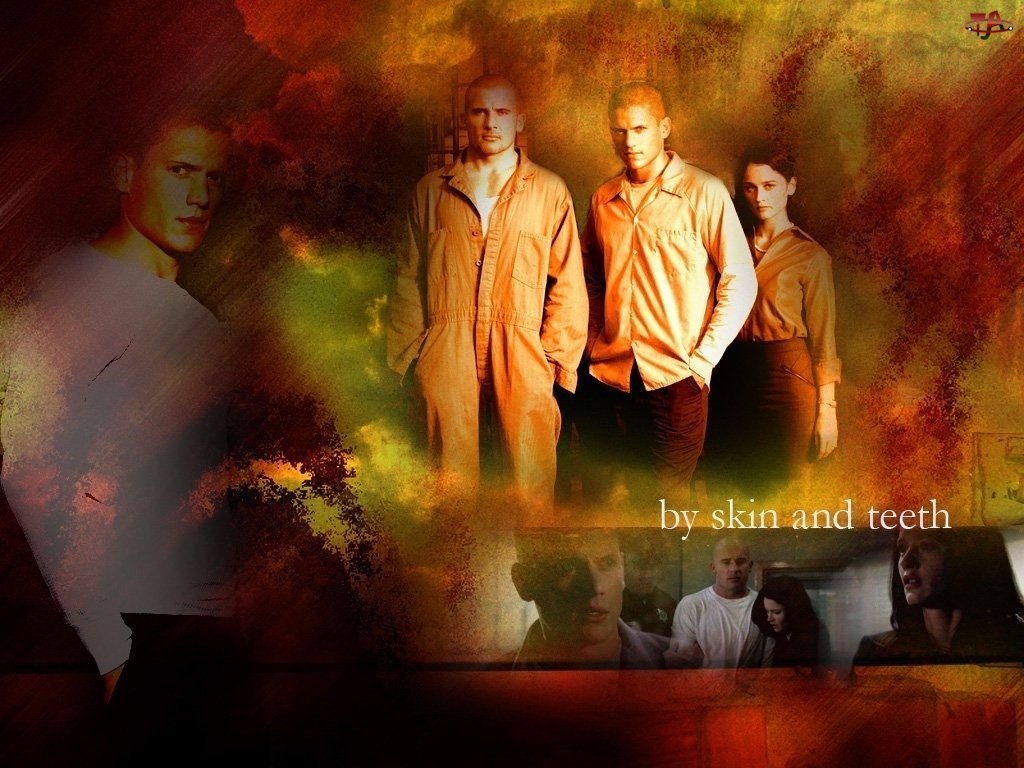 Skazany na śmierć, Prison Break, Wentworth Miller, więzień, Robin Tunney, Dominic Purcell