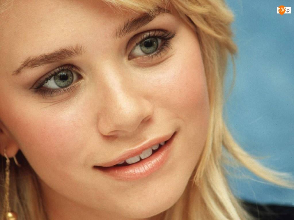 Blizniaczki Olsen, błękitne oczy