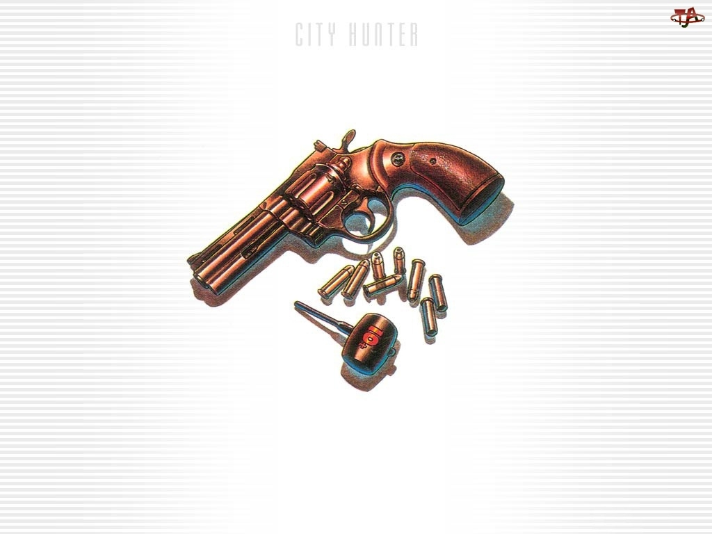 naboje, City Hunter, pistolet