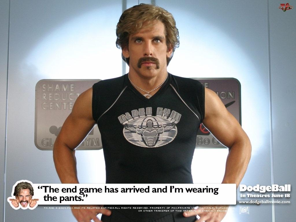wąsy, Ben Stille, koszulka