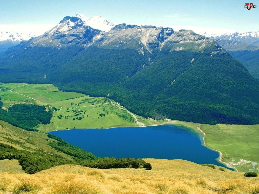 Jezioro, Nowa Zelandia, Góra