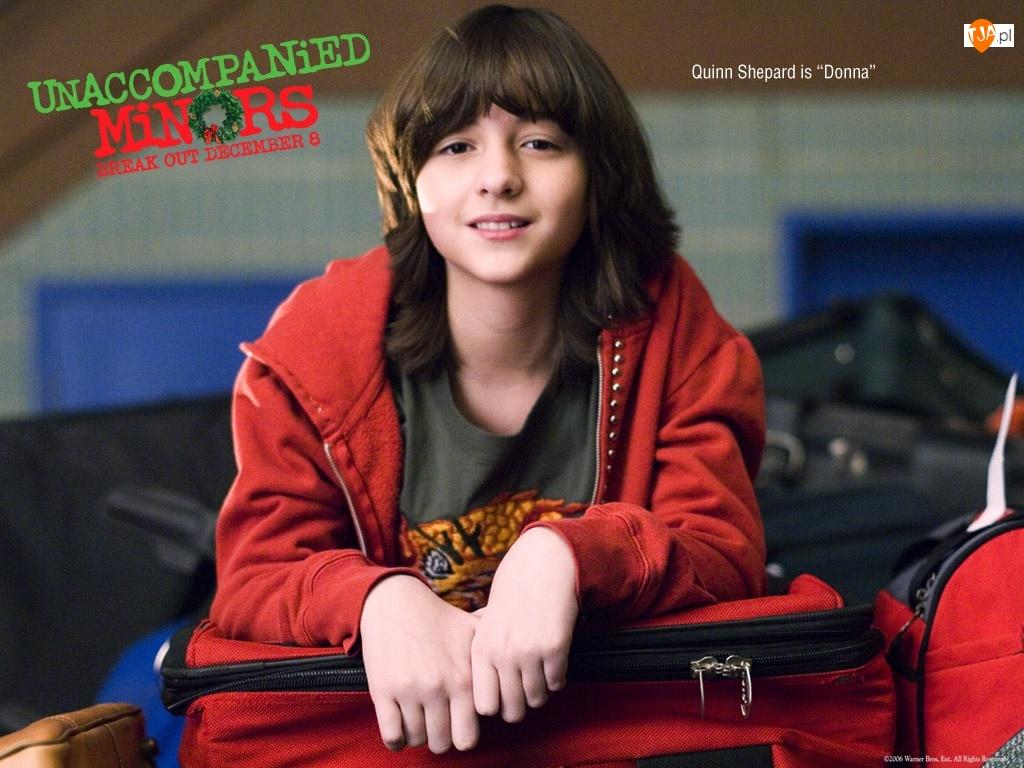 Unaccompanied Minors, Quinn Shephard