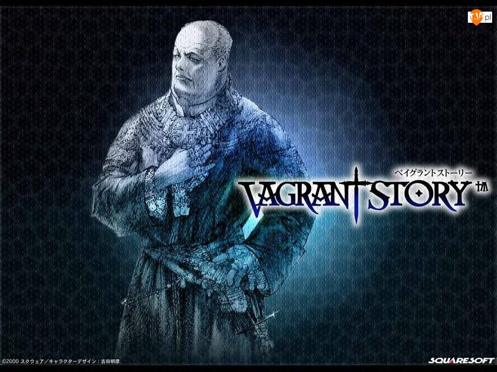 Vagrant Story, fantasy, mężczyzna, mnich