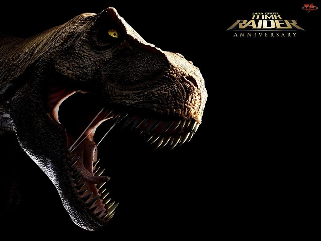 kły, Tomb Raider Anniversary, dinozaur