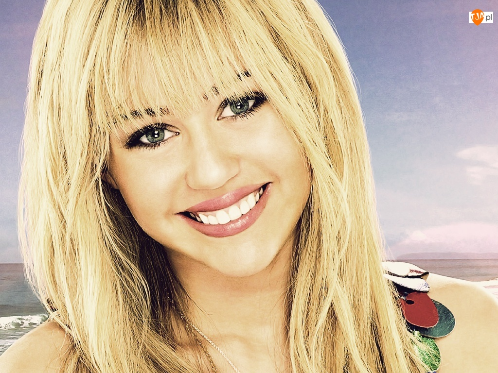 Miley Cyrus, Blondynka, Hannah Montana