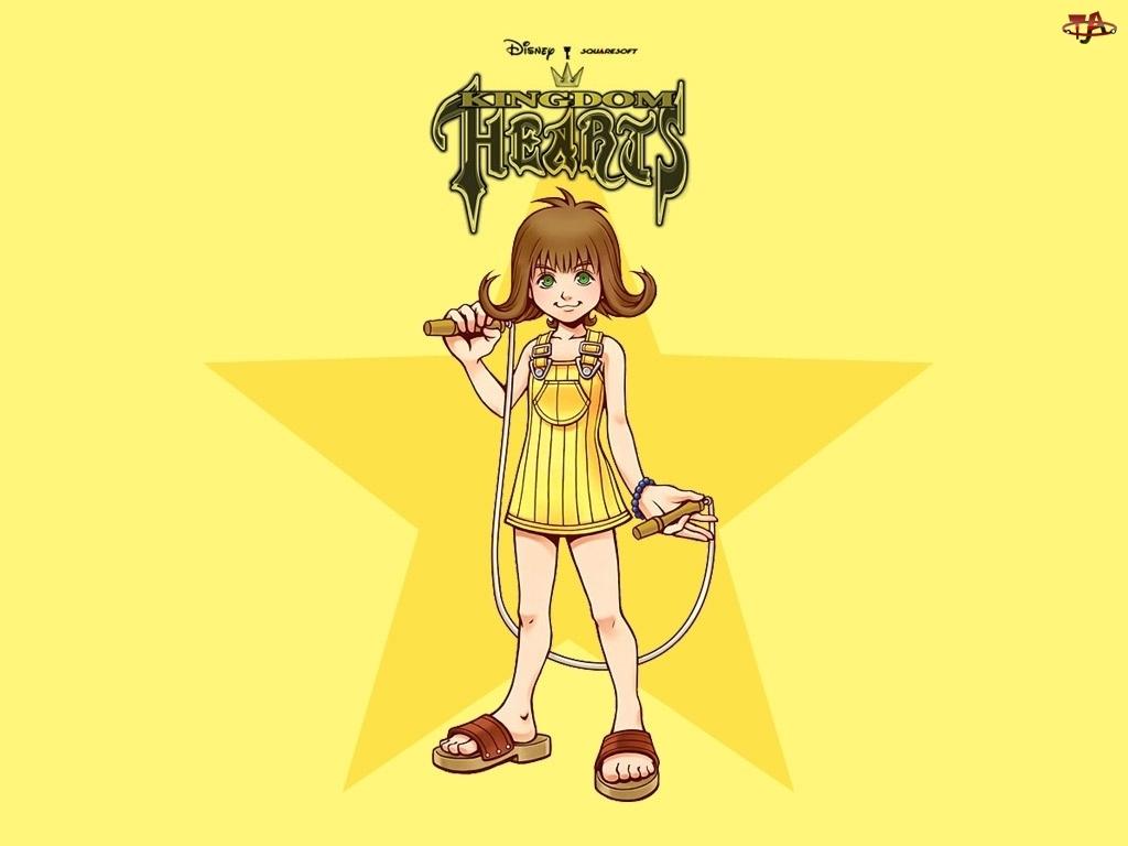 Kingdom Hearts, skakanka, postać, dziewczynka