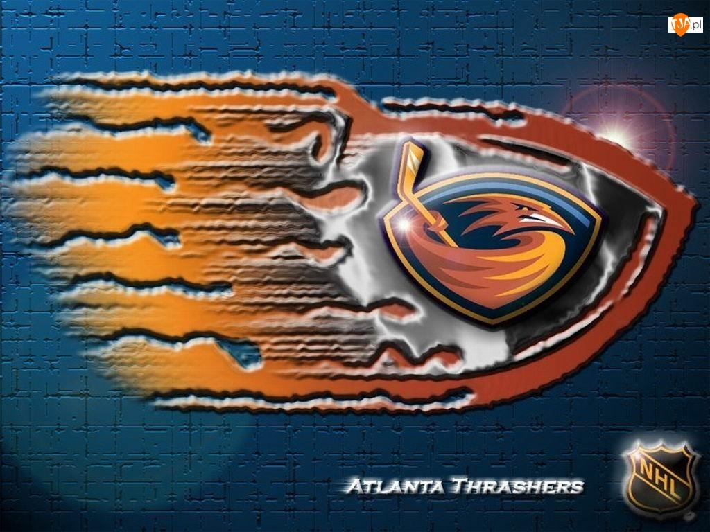 Logo, Atlanta Thrashers, Drużyny, NHL
