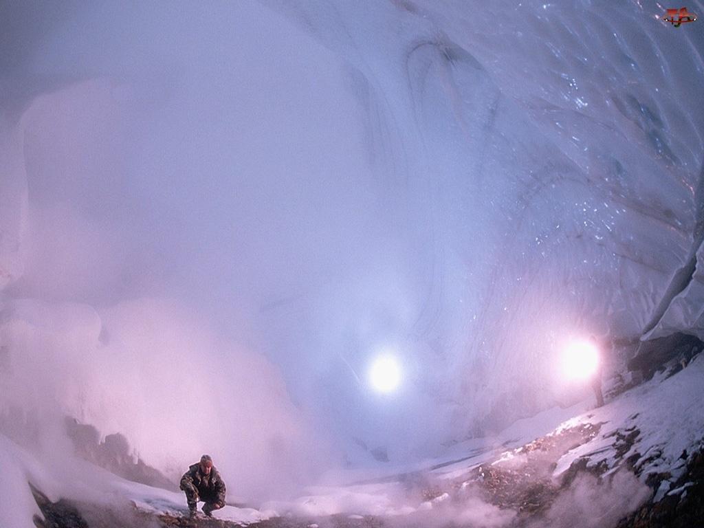 Zima, Lodowa, Jaskinia