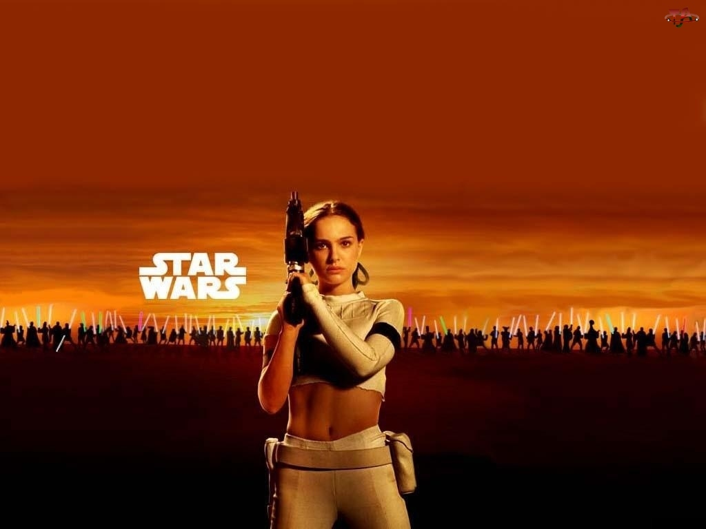 zachód, Star Wars, brzuch, Natalie Portman, armia