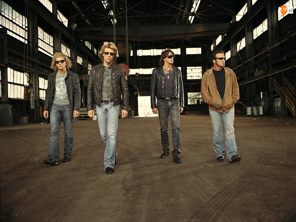 hangar, Bon Jovi, zespól
