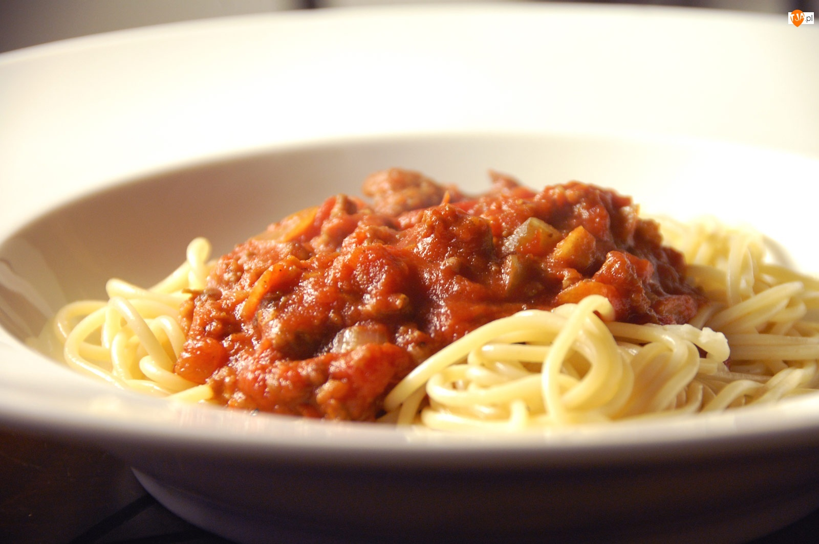 Sos, Spaghetti