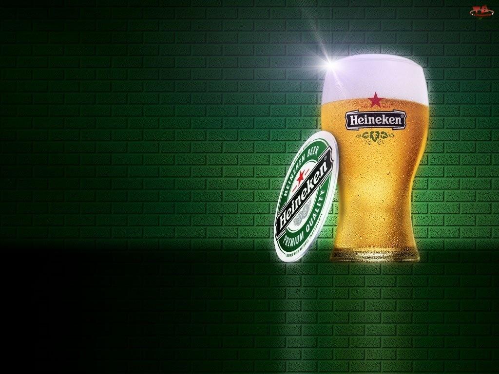 podstawka, Piwo, Heineken