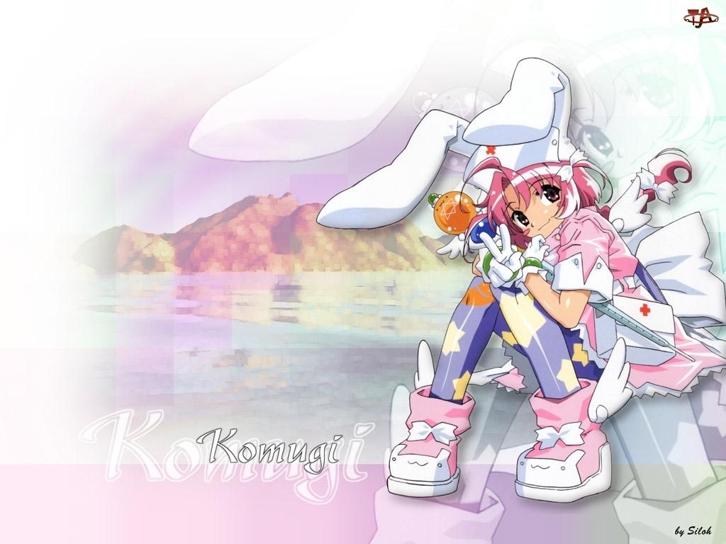 Nurse Witch Komugi, dziecko