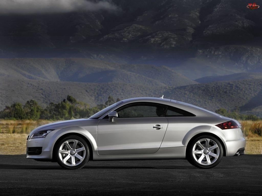Lewy Profil, Srebrne, Audi TT