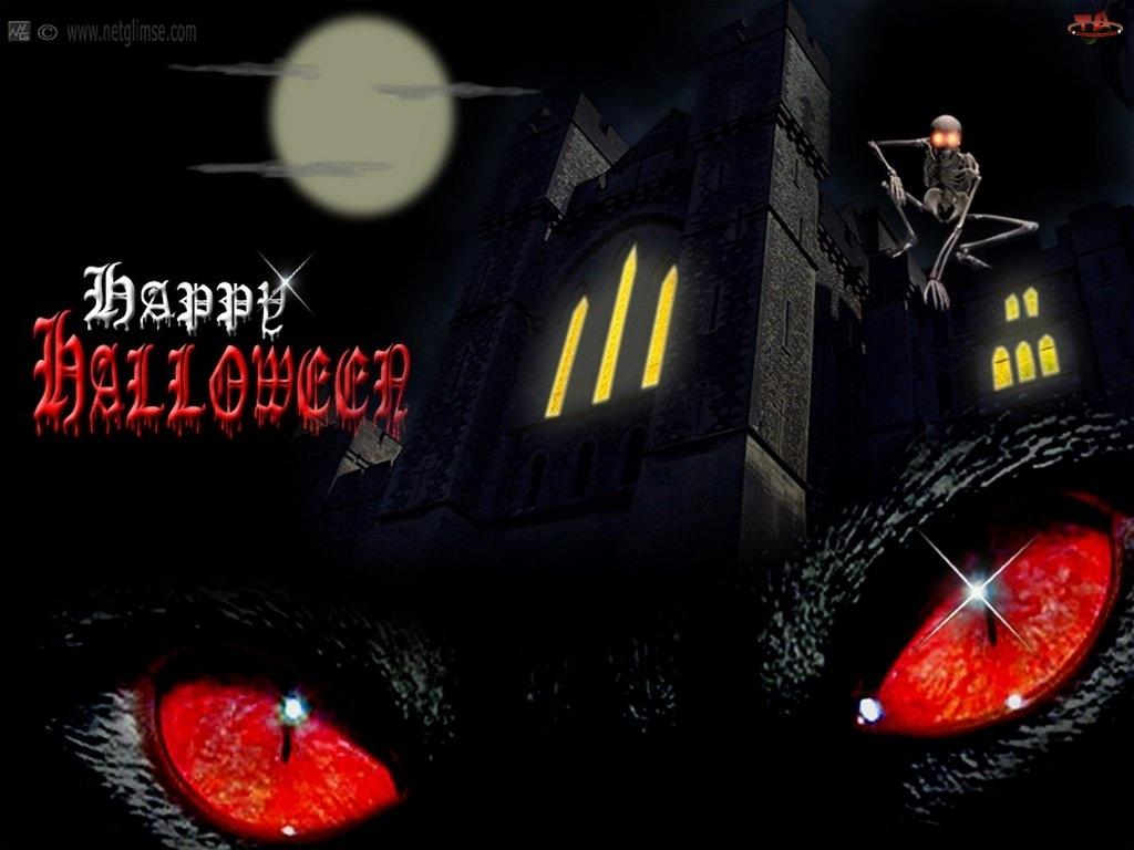 Halloween, oczy